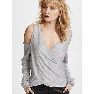 Line & Dot | Roslyn Cold Shoulder Sweater